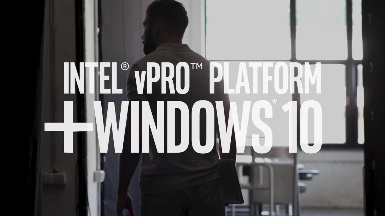 The Intel® vPro™ Platform is Best for Business