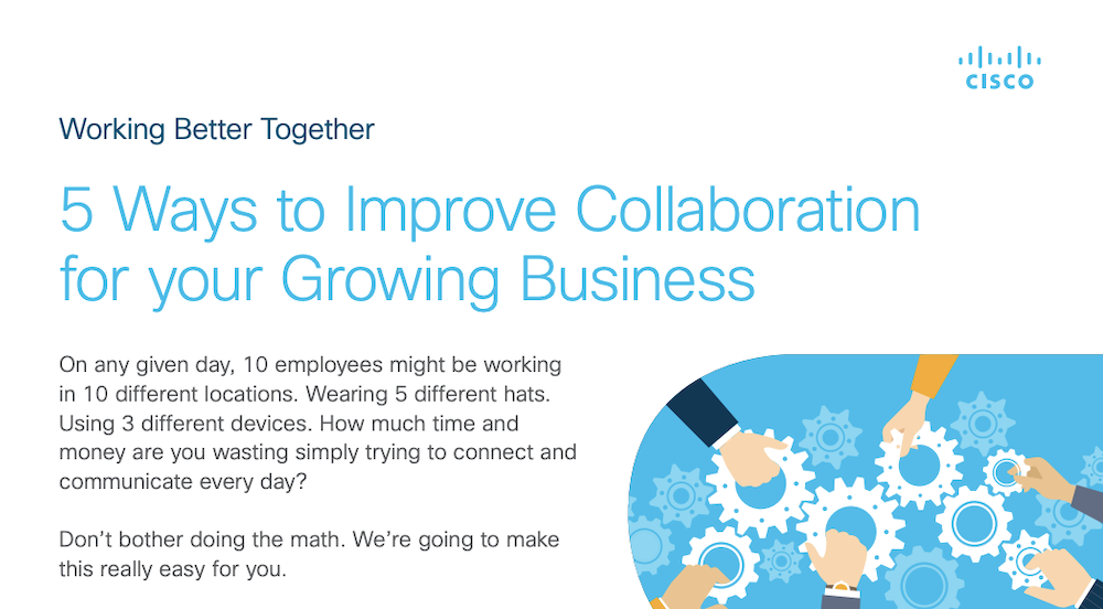 5 Ways to Improve Collaboration for your Growing Business