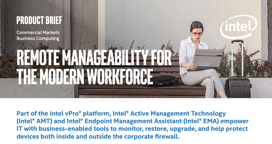 Remote Manageability for the Modern Workforce