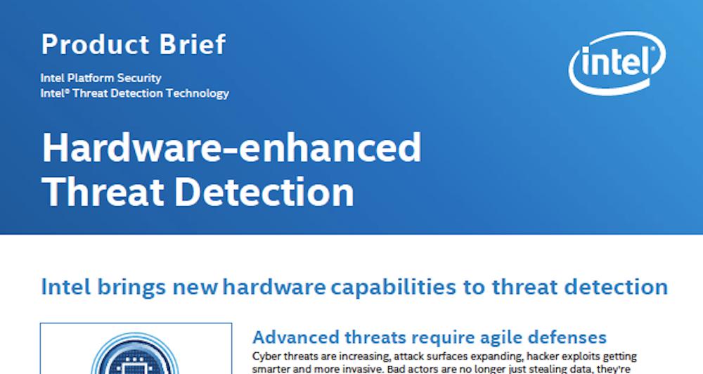 Hardware-enhanced Threat Detection