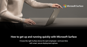 How to get up and running quickly with Microsoft Surface