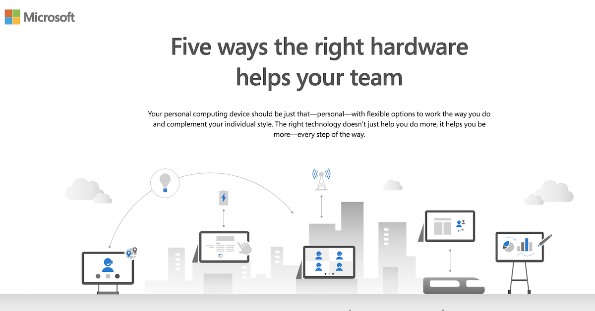 Five ways the right hardware helps your team