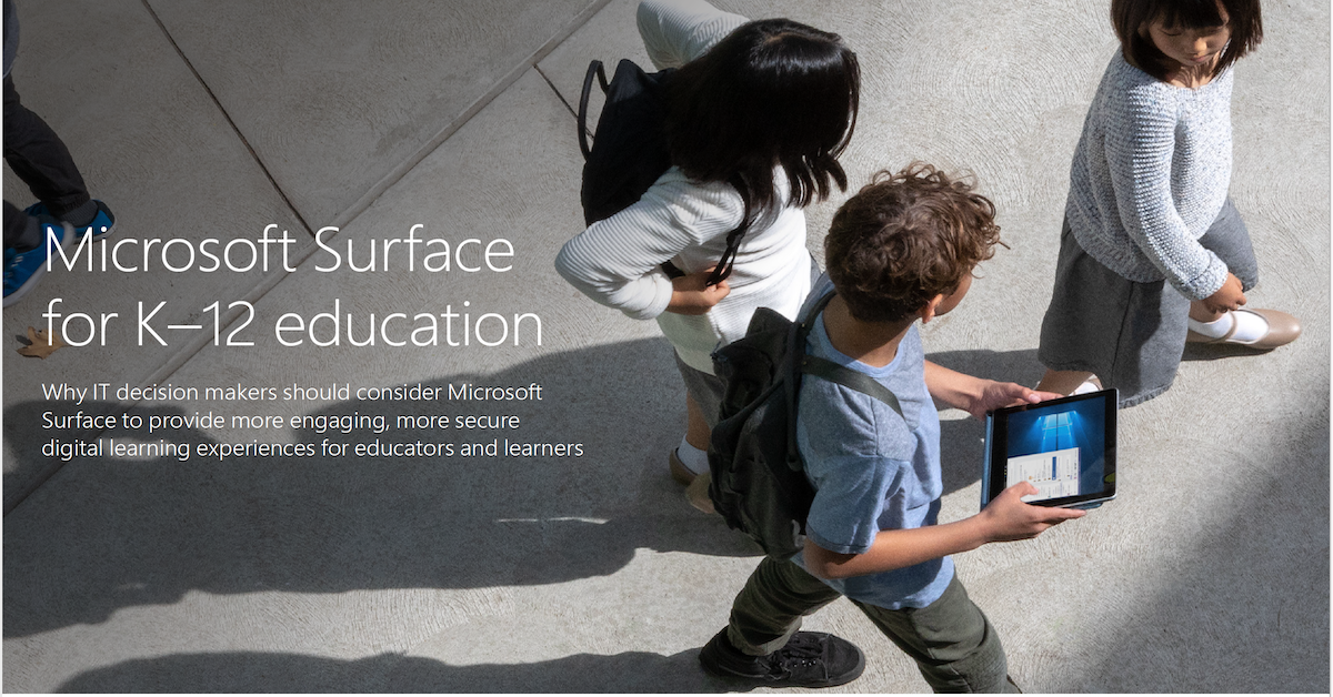 Microsoft Surface EDU Security