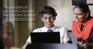 Microsoft Surface EDU Versatility and Power