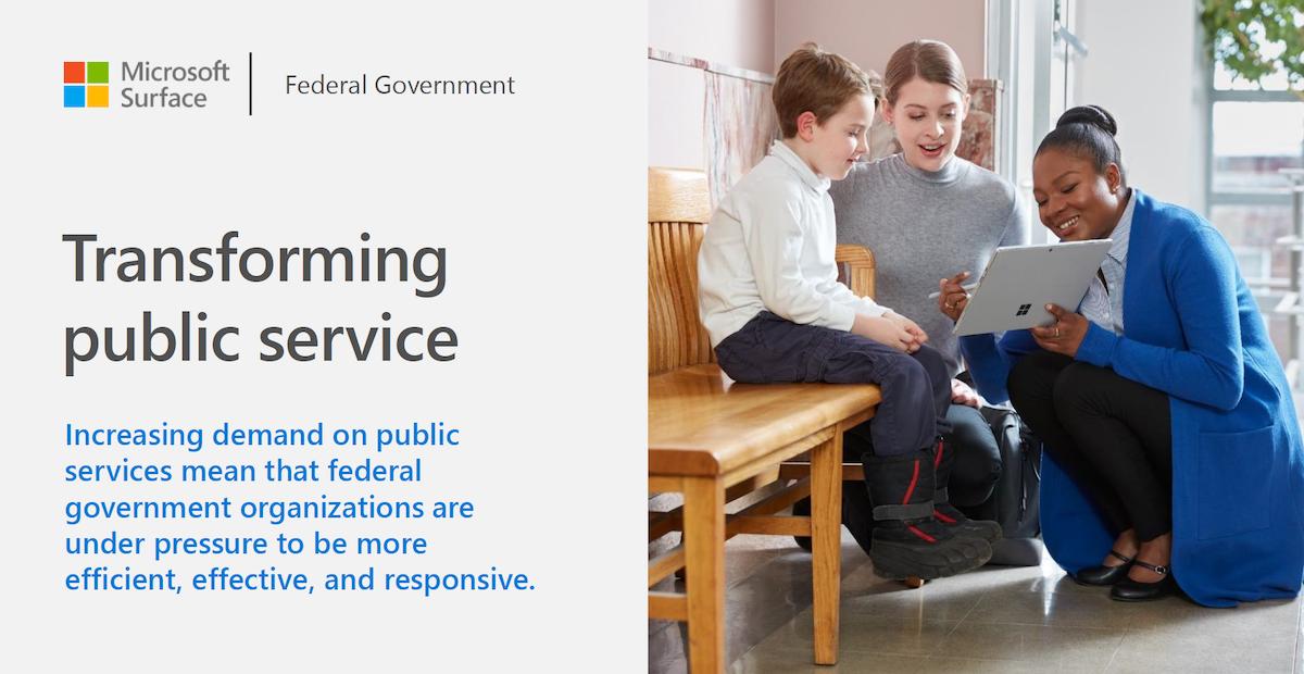 Transforming public service