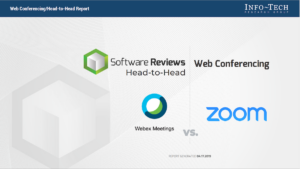 Software Reviews Head-to-Head: Web Conferencing — Webex Meetings vs. Zoom