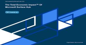 The Total Economic Impact™ of Microsoft Surface Hub