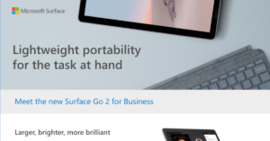 Meet the New Surface Go 2 for Business