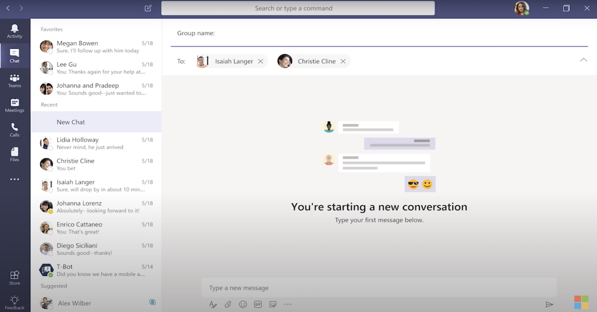 Welcome to Microsoft Teams 3