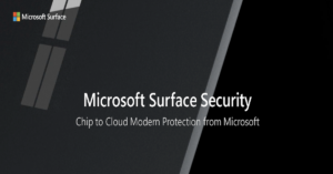 Microsoft Surface Security: Chip to Cloud Protection