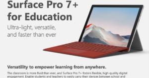 Surface Pro 7+ K-12