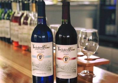 Twisted Vine Wine Label