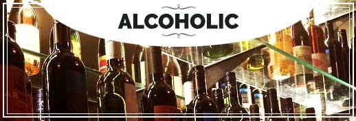 BIN 141 Menu Alcoholic
