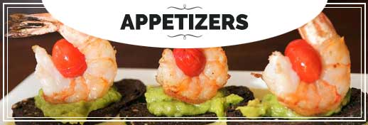 BIN 141 Menu Appetizers