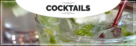 BIN 141 Menu Cocktails