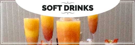 BIN 141 Menu Soft Drinks