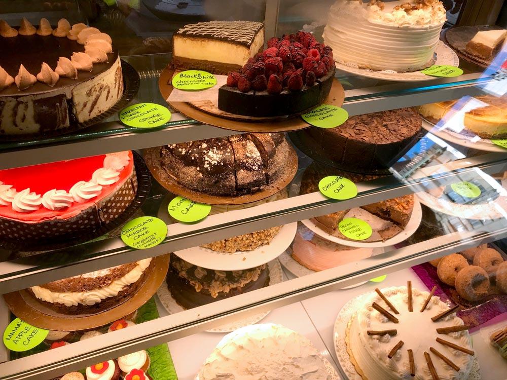 BIN 141 nyc restaurant east village cakes