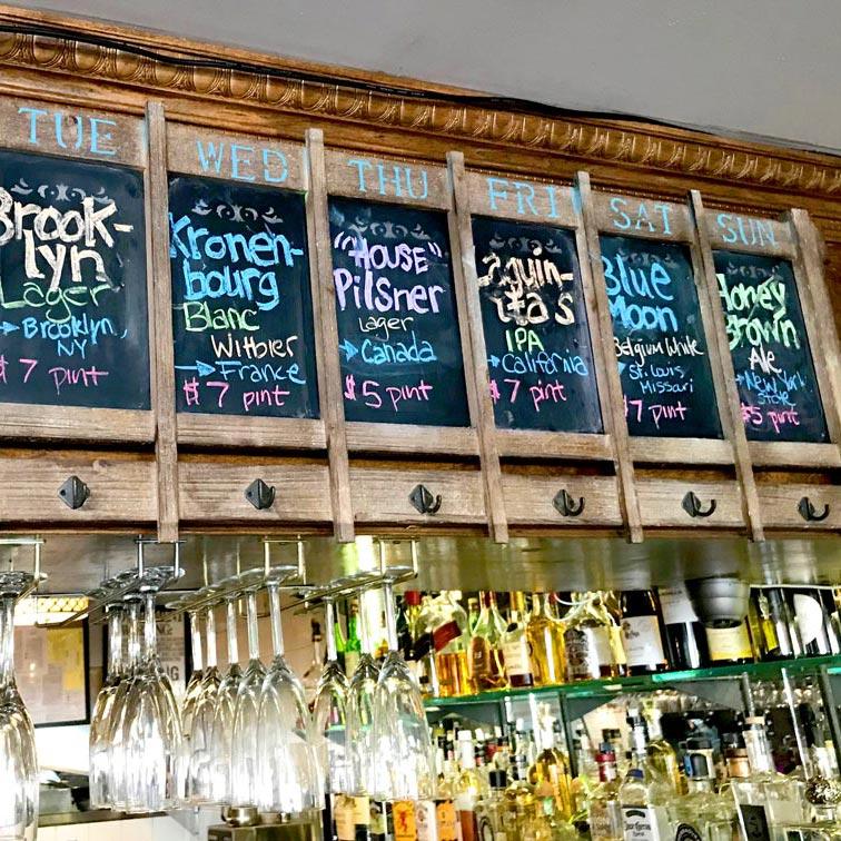 BIN 141 nyc restaurant east village drinks beers full bar