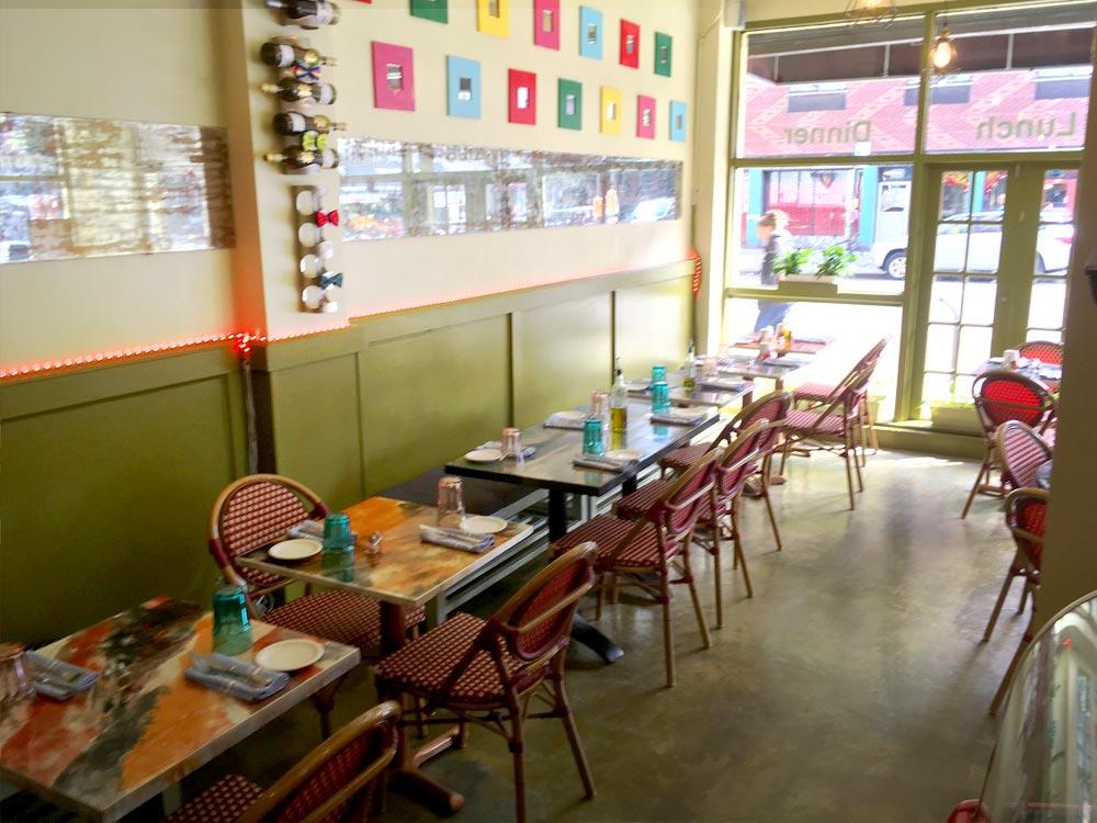 BIN 141 nyc restaurant east village interior