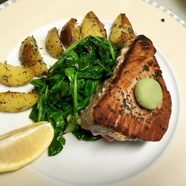 BIN 141 nyc restaurant east village tuna