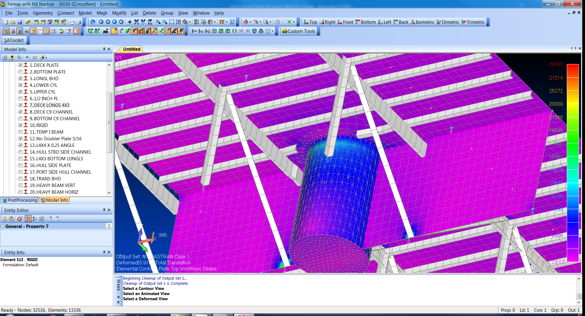 Finite Element Analysis of Deck Structure