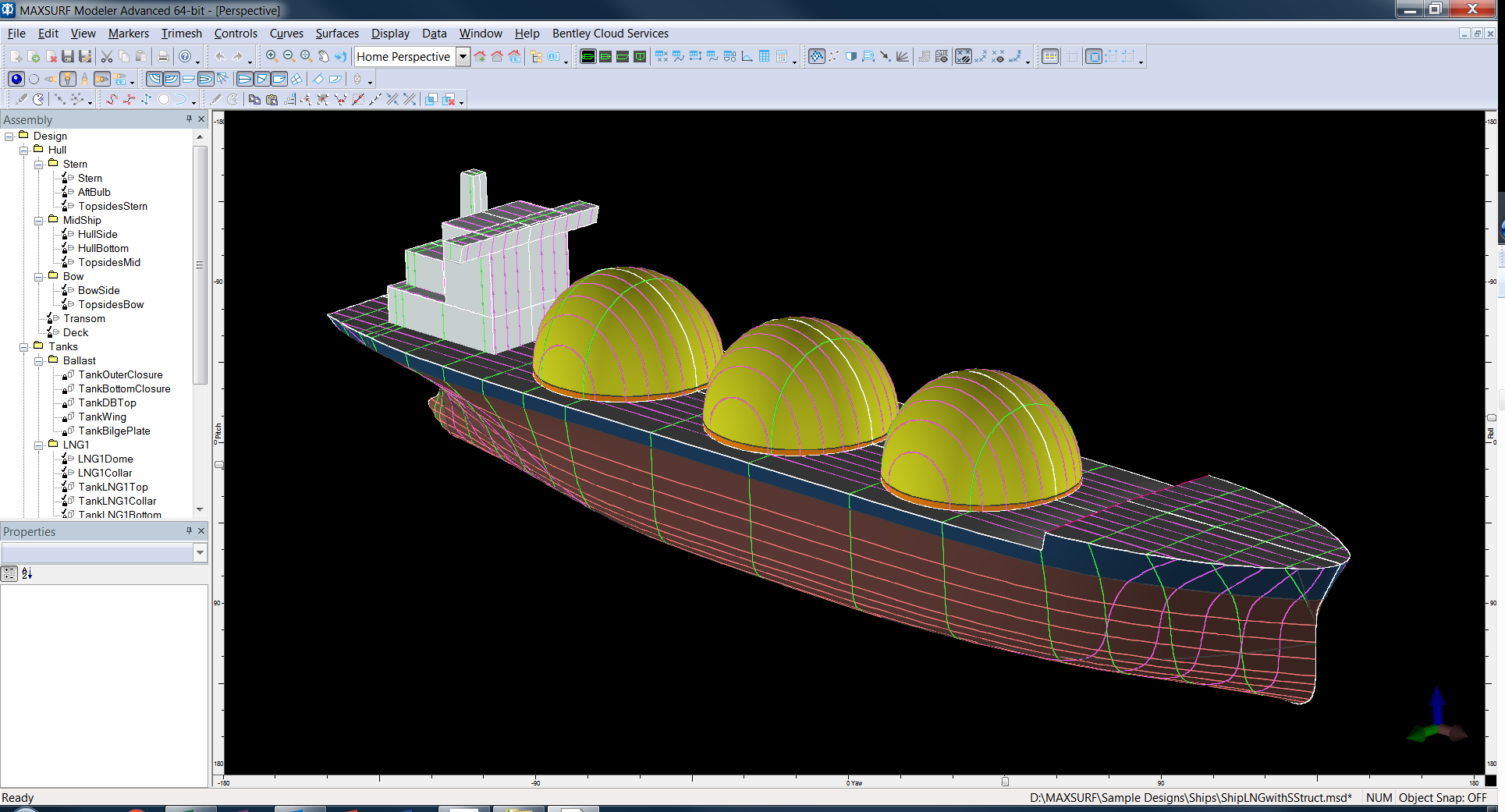 Maxsurf Naval Architecture Software for Conceptual Design