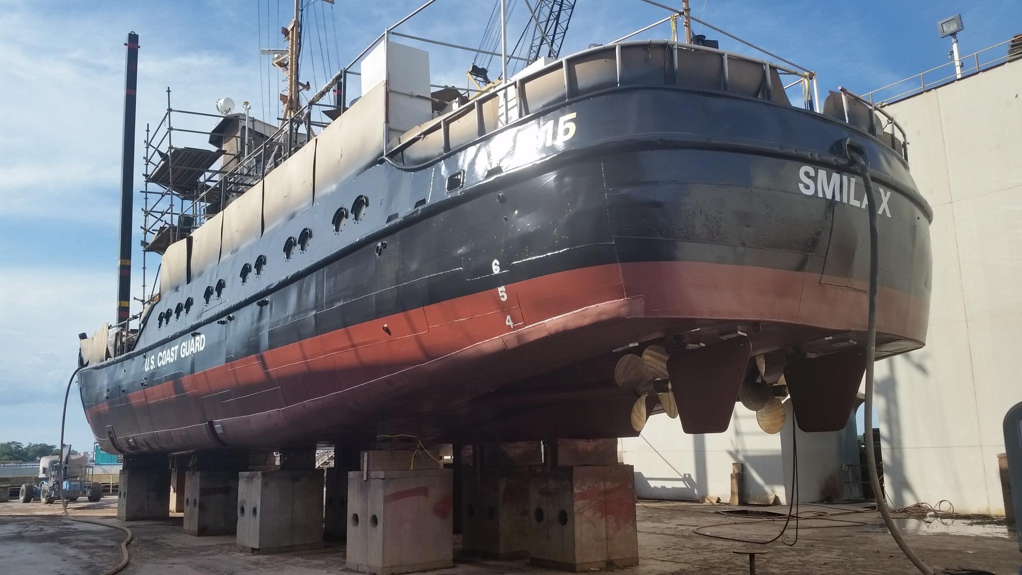 USCGC FEA HULL STEEL