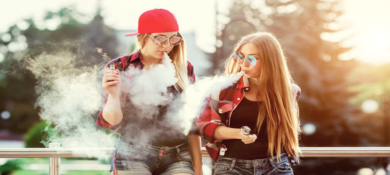 Teen Nicotine Vaping Doubles in Single Year