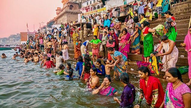 The Ganges is teeming with 'astronomical' amounts of antibiotic-resistant bacteria spread by tonnes of sewage from half a million annual Hindu pilgrims and tourists