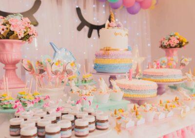 unicorn treat table