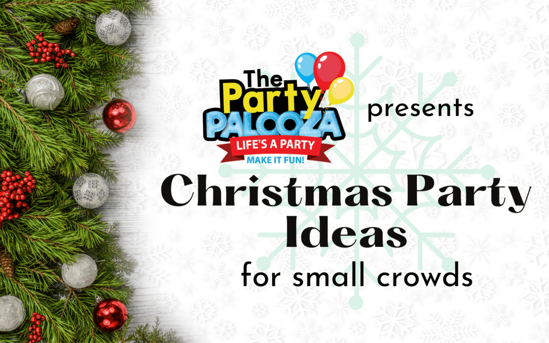 5 Fun Christmas Party Ideas for Small Crowds