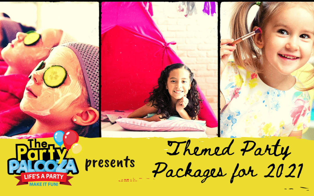 Introducing New Themed Party Packages from The Party Palooza!