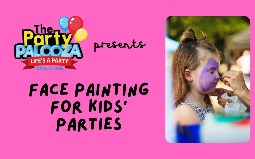Face Painting for Kids' Parties: The Basic Guidelines