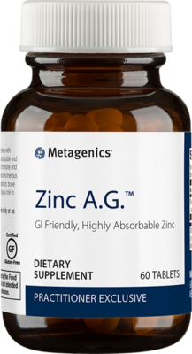 Metagenics Zinc A.G. - Dr. S. Rudack, Functional Medicine Certified Practitioner