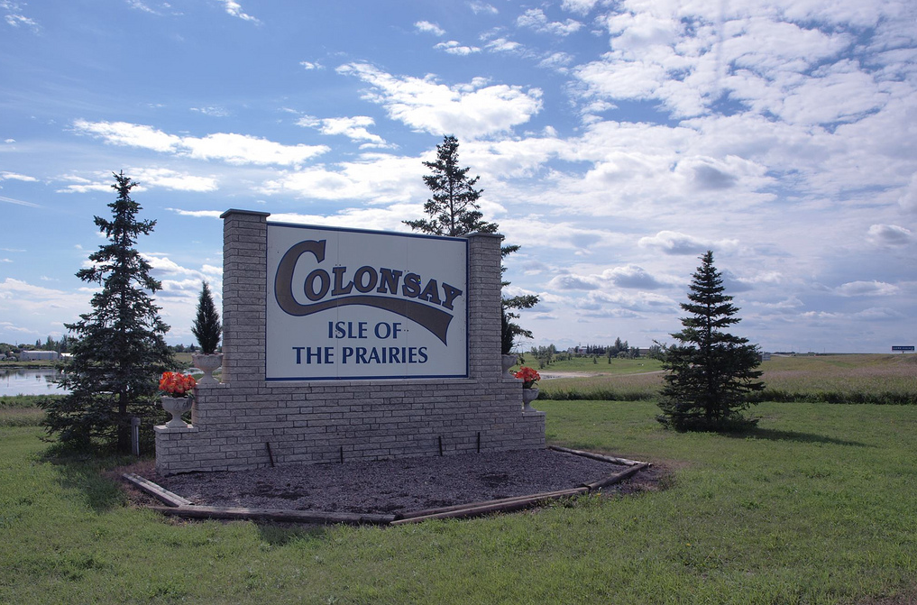Colonsay is a modern community of caring people offering a variety of services and activities, located 35 minutes east of Saskatoon on the Yellowhead Highway.  Colonsay derived its name from a small island in the Herbrides off the west coast of Scotland. Colonsay is fortunate to have a unique group of residents- farmers, miners, professionals, trades persons and retirees, all of diverse cultures and backgrounds.