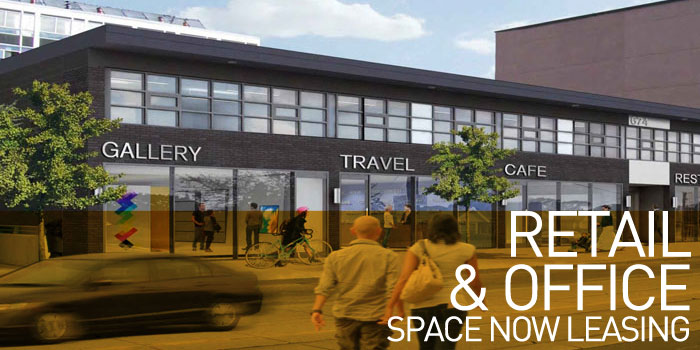 Retail and Office Space Now Leasing