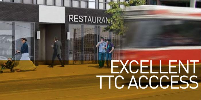 Excellent TTC Acccess