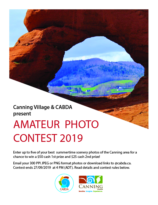 Canning CABDA Photo Contest poster