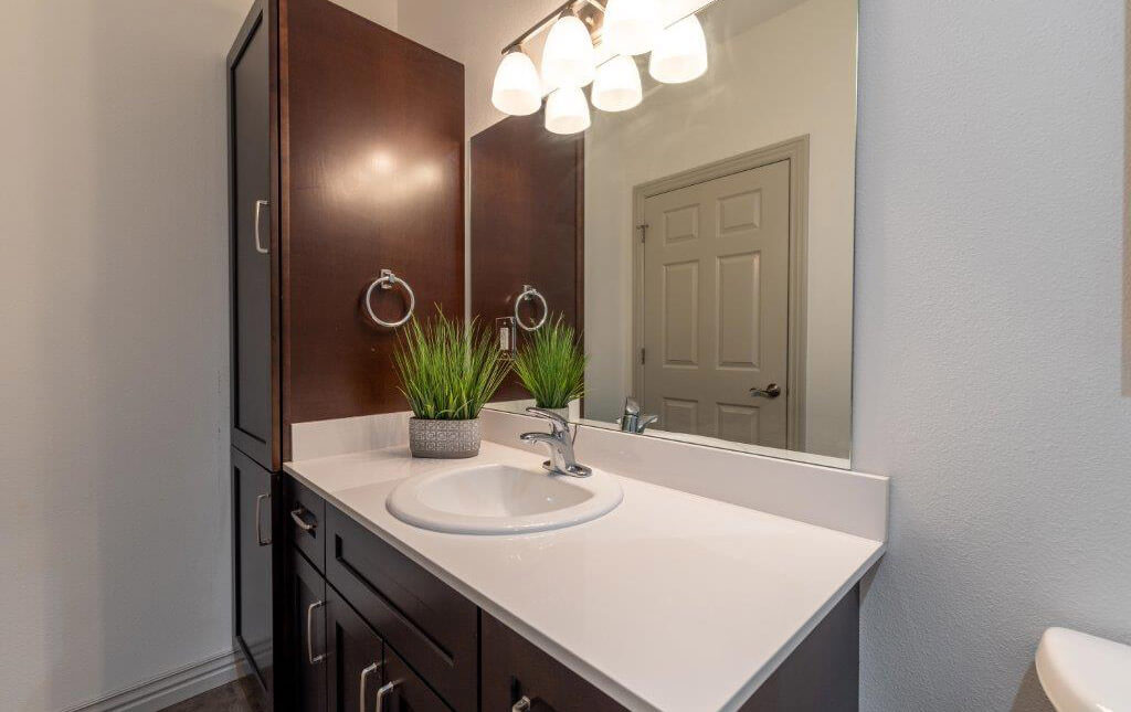 A bathroom