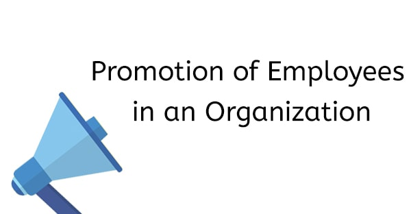 Promotion of Employees in an Organization