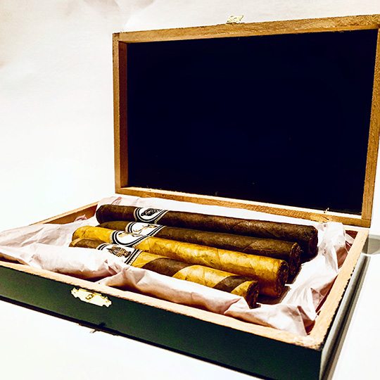 cigars, cigar sampler, trilogy cigar company