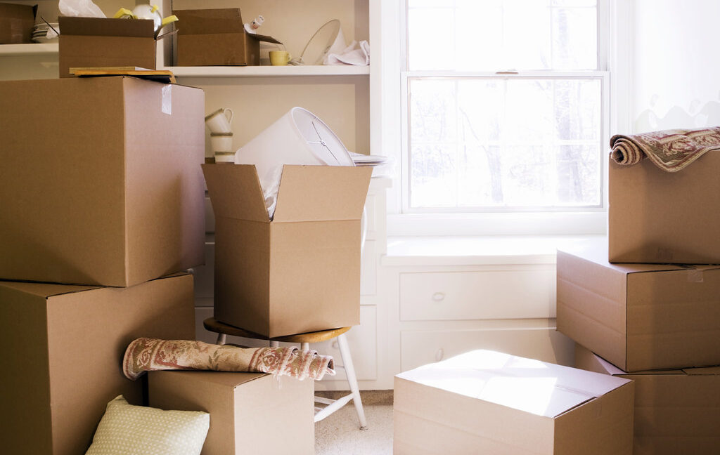 Home Buyer Moving Day