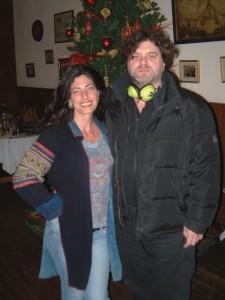 Me and EVP specialist Michael Espisito