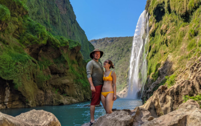 Visiting Tamul Waterfall in Mexico