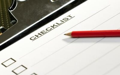 Energy Saving Checklist