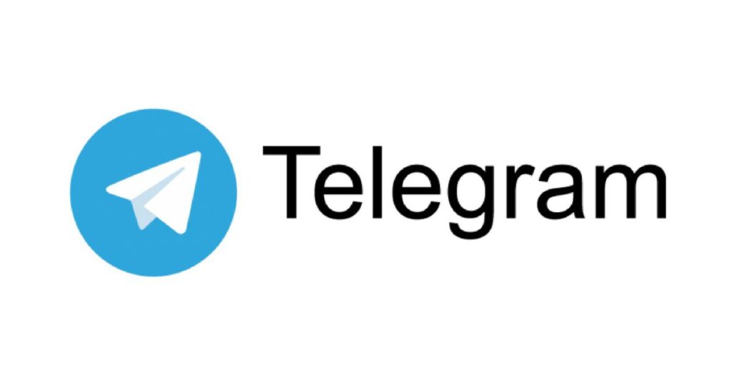 Telegram Logo. Social Media trends