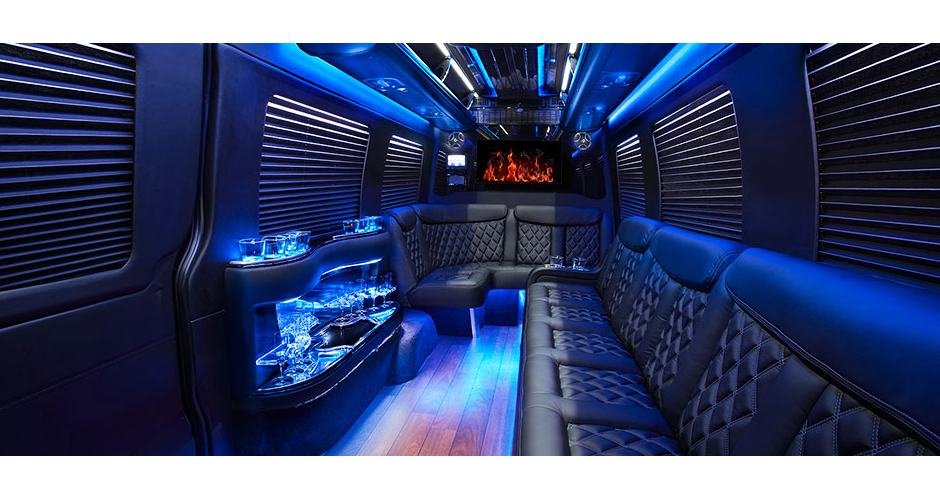 Mercedes Sprinter Limo for VT Winery Tours