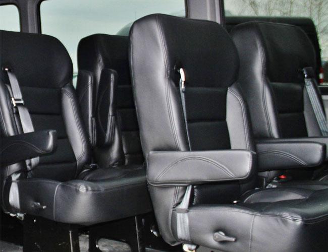Vermont Chauffeured Passenger Van Service