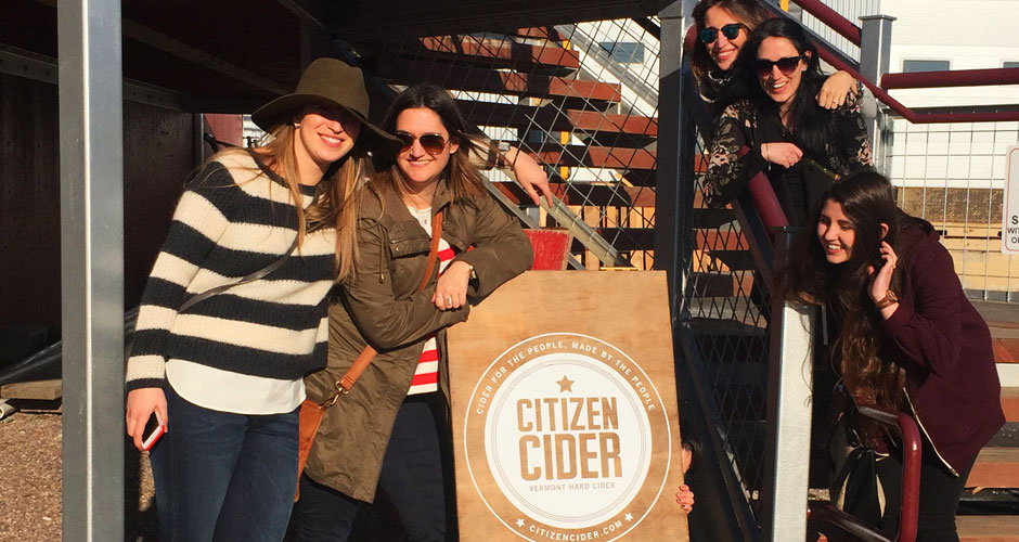 Chauffeured Vermont cider Tours