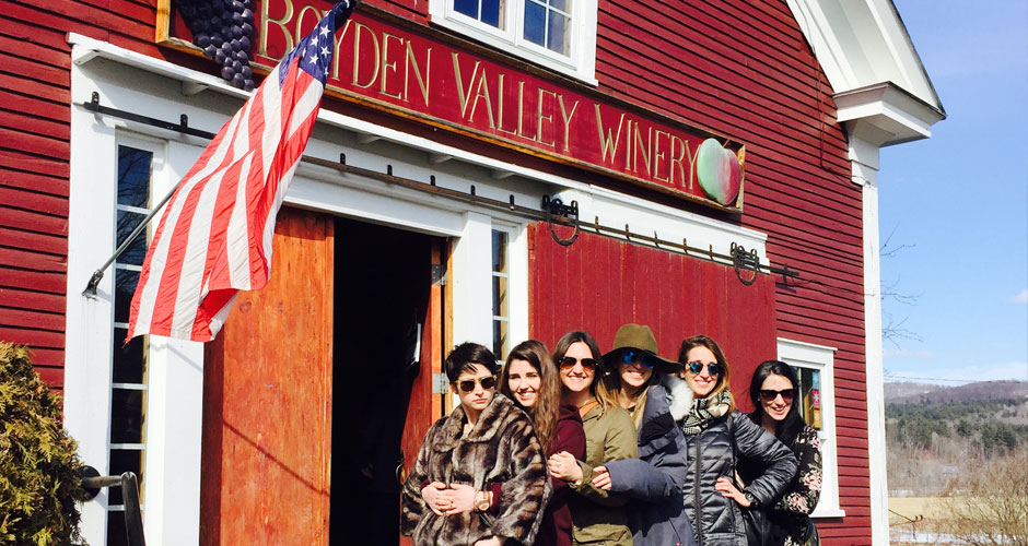 Chauffeured Vermont winery Tours
